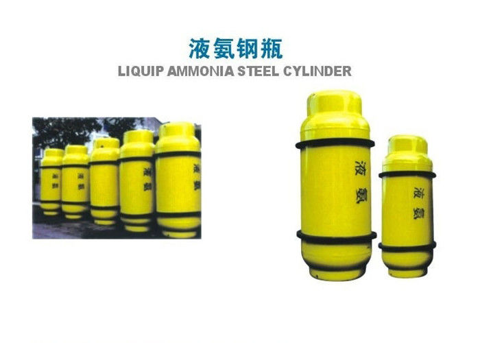 800L Chlorine Gas Cylinder , Industrial Gas Cylinders 450KGS Weight