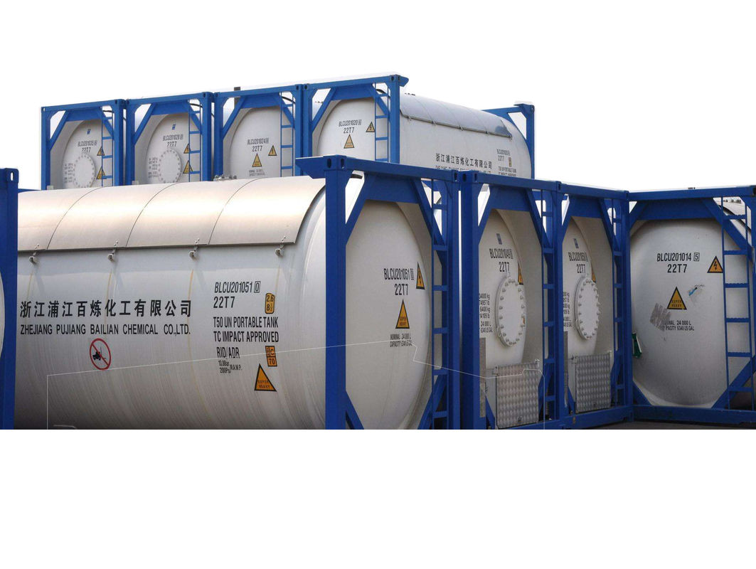 Industrial Desulfurization Ammonium Hydroxide Solution Nh4oh ISO Tanks Packaging